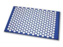 Shanti Acupressure Carpet / Nail mat (65 x 41 cm, Blau)