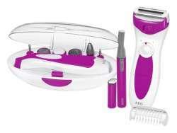 AEG Lady Beauty Set LBS 5676 weiß-pink