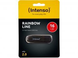 USB FlashDrive 16GB Intenso RAINBOW LINE Blister