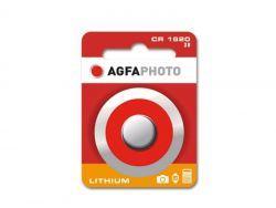 AGFAPHOTO Batterie Lithium Knopfzelle CR1620 3V Blister (1-Pack) 150-803456
