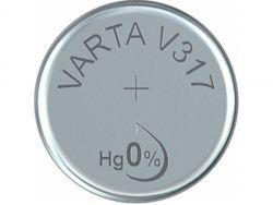 Varta Batterie Silver Oxide Knop. 317 1.55V Retail (10-Pack) 00317 101 111