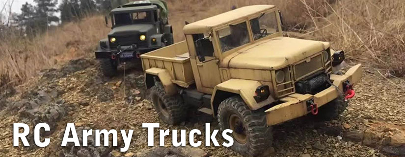 RC Army Trucks